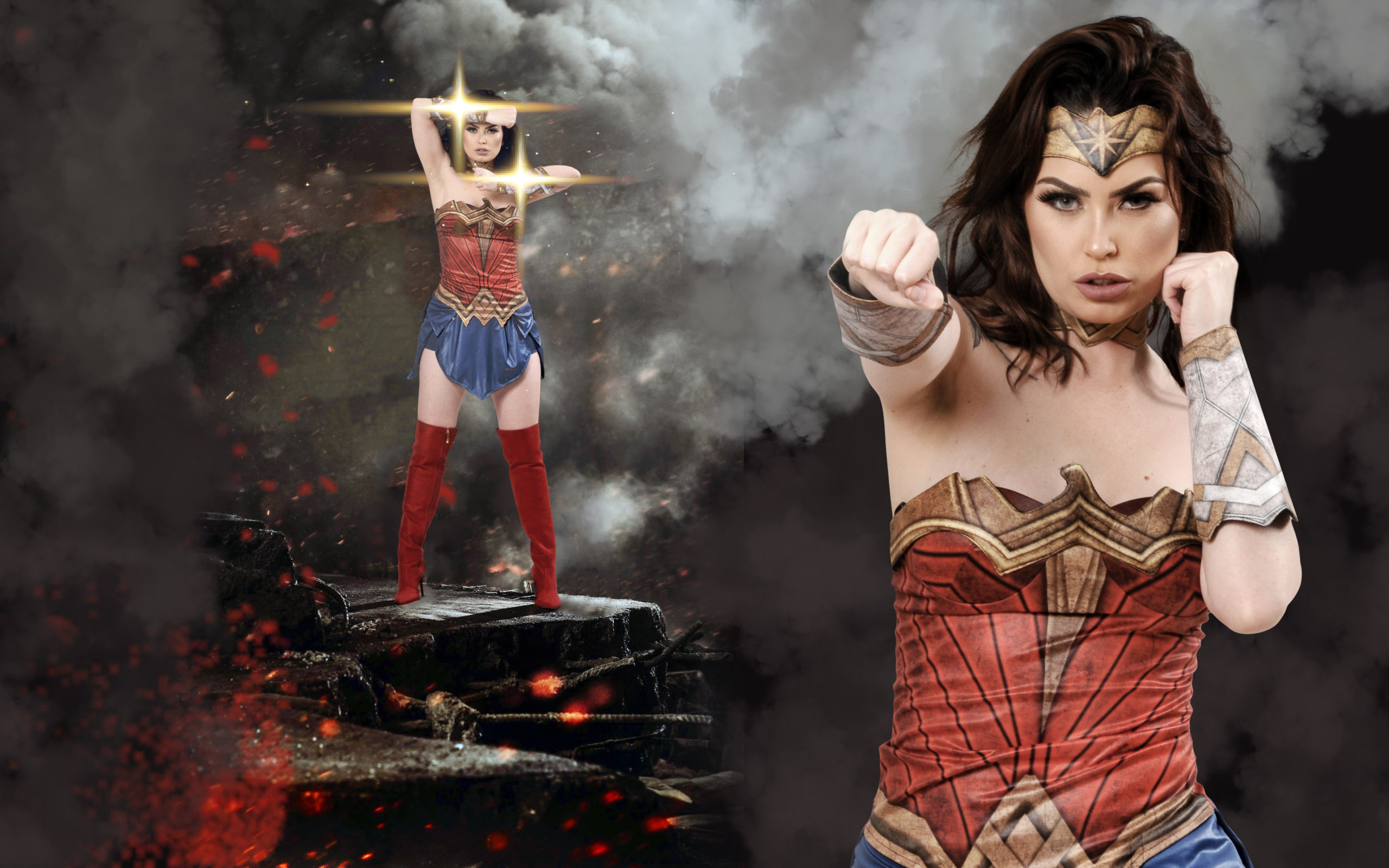 Wonder Woman In Batman Vs Superman 2016